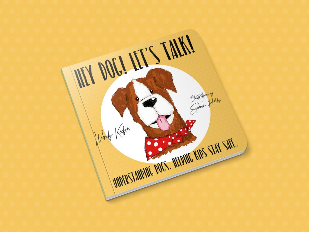 Hey Dog! Let's Talk! is a book aimed at 4-7 year olds and intended to be read with parents